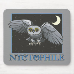 Mousepad with Nyctophile design