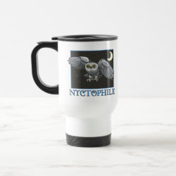 Travel / Commuter Mug with Nyctophile design