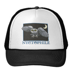 Trucker Hat with Nyctophile design