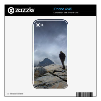 Nydiver Lakes 2 - Ansel Adams Wilderness - Sierra Decal For The iPhone 4S