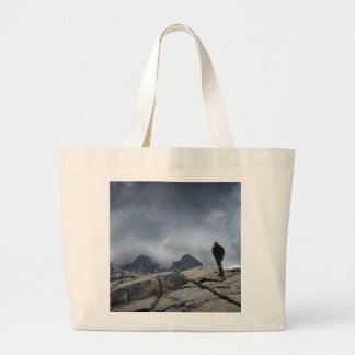 Nydiver Lakes 2 - Ansel Adams Wilderness - Sierra Large Tote Bag