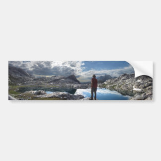 Nydiver Lakes - Ansel Adams Wilderness - Sierra Bumper Sticker