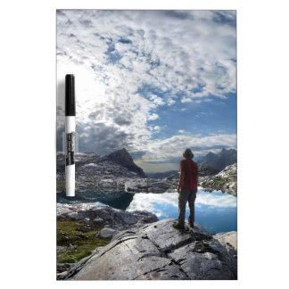 Nydiver Lakes - Ansel Adams Wilderness - Sierra Dry Erase Board
