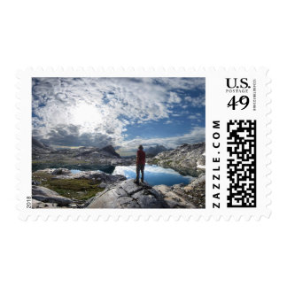 Nydiver Lakes - Ansel Adams Wilderness - Sierra Postage