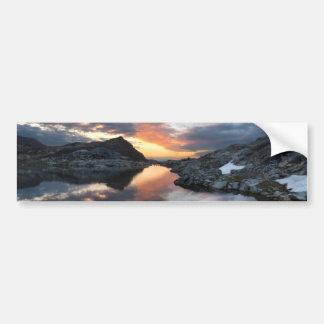 Nydiver Lakes Sunrise 2 - Ansel Adams Wilderness Bumper Sticker