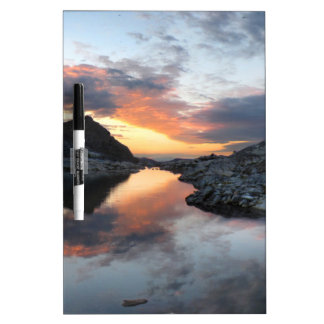 Nydiver Lakes Sunrise 2 - Ansel Adams Wilderness Dry Erase Board