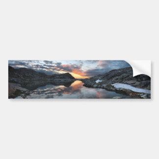 Nydiver Lakes Sunrise - Ansel Adams Wilderness Bumper Sticker