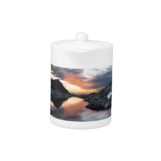 Nydiver Lakes Sunrise - Ansel Adams Wilderness Teapot