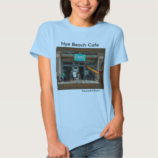 Nye Beach Cafe Ladies TShirt