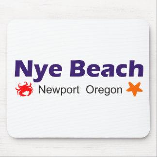 Nye Beach Newport Oregon Mouse Pad