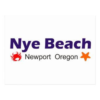 Nye Beach Newport Oregon Post Cards