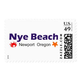 Nye Beach Newport Oregon Postage Stamps