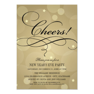 Holiday Cocktail Party Invitations Announcements Zazzle