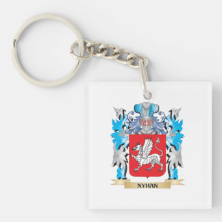 Nyhan Coat of Arms - Family Crest Acrylic Key Chain