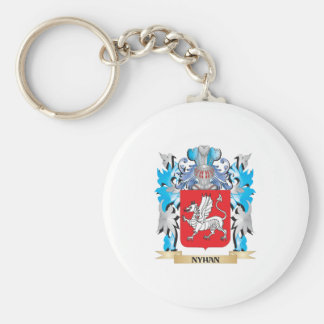 Nyhan Coat of Arms - Family Crest Keychain