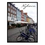 nyhavn bikes post card