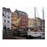 nyhavn boat post cards