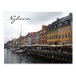 nyhavn colors post card