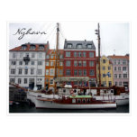 nyhavn denmark postcard