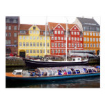 nyhavn ferry boat post cards