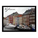nyhavn modern post card