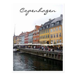 nyhavn scenic post card