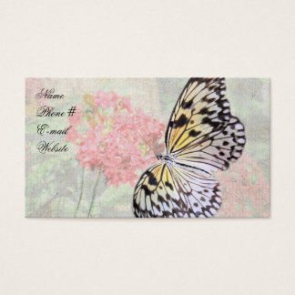 Nymph Butterfly Business Card