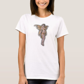 Nymph fairy in gold costume faerie T-Shirt