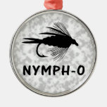 Nymph-O funny fly fishing lure Ornaments