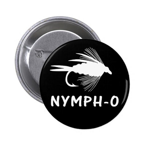Nymph-O funny fly fishing lure Pin