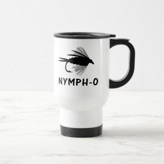 Nymph-O funny fly fishing lure Travel Mug