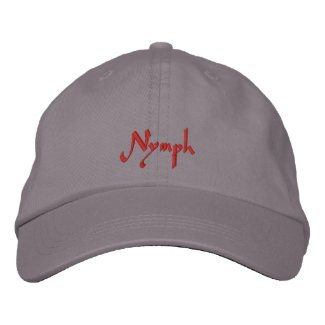 Nymph Slayer Cap / Hat embroideredhat