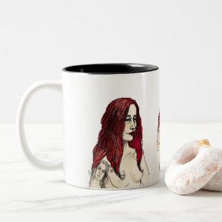 Nymph Two-Tone Coffee Mug