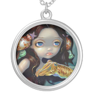 Nymph with a Cuttlefish NECKLACE mermaid