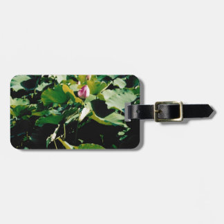 Nymphaea Flower Style Bag Tags