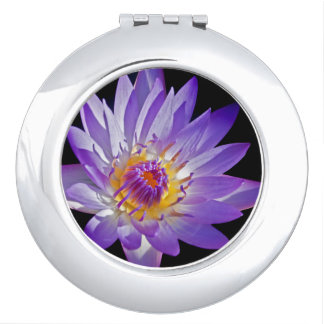 Nymphaea Glow Mirror Compact Compact Mirror