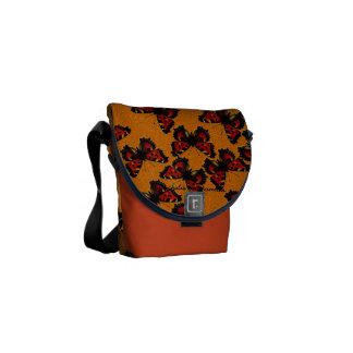 Nymphalis xanthomelas messenger bag