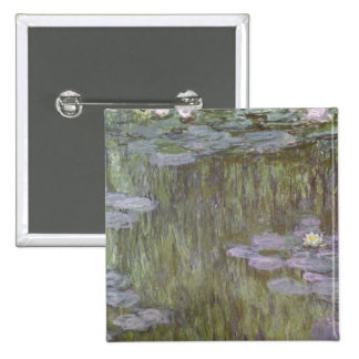 Nympheas at Giverny, 1918 Pinback Button