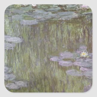 Nympheas at Giverny, 1918 Sticker