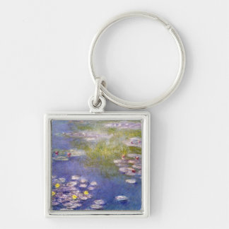 Nympheas at Giverny by Claude Monet Keychains