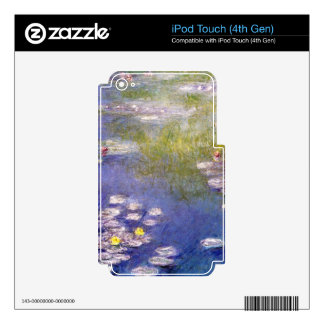 Nympheas at Giverny by Claude Monet Skin For iPod Touch 4G