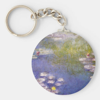 Nympheas at Giverny Keychain