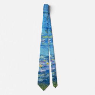 Nympheas Claude Monet Impressionism Fine Art Tie
