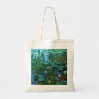 Nymphéas de Claude Monet Bolsa Tela Barata