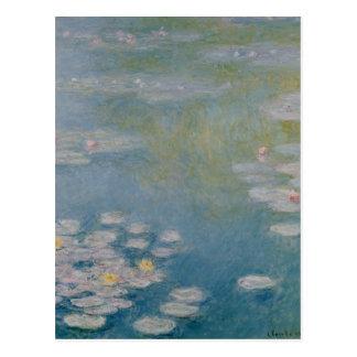 Nympheas en Giverny, 1908 Postal