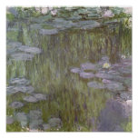 Nympheas en Giverny, 1918 Impresiones
