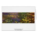 Nymphéas (lirio de agua) por Claude Monet Felicitacion