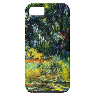 Nympheas (lirios de agua) por Claude Monet iPhone 5 Case-Mate Cárcasas