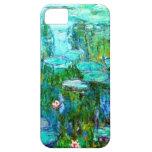 Nympheas por el iPhone de Claude Monet iPhone 5 Carcasa