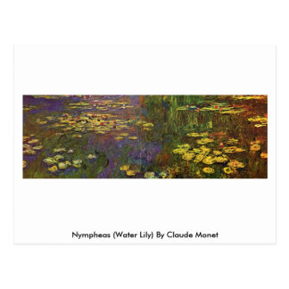 Nympheas (Water Lily) By Claude Monet Postcard